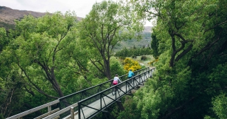 Queenstown Trail Gibbston River Trail credit Jim Pollard Goes Click
